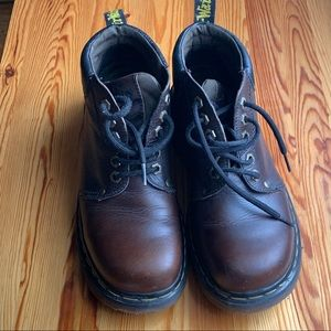 Dr. Martens AirWair Boots, Brown, Made In England